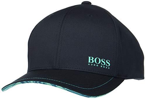 BOSS Athleisure Herren Cap-Logarithm Baseball Cap, per Pack Schwarz (Black 001), One Size (Herstellergröße: ONESI)