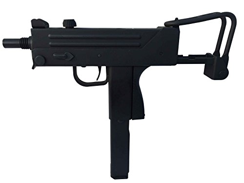 WELL G11 MAC10 Qualität Airsoft Gas Pistole Sub Machine, unter 0.5 Joule, GRATIS 2000 BULLDOG BBS 0.20G (Guns Gun Sub-machine Airsoft)