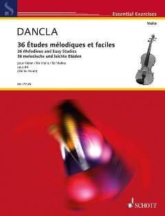36 ETUDES MELODIQUES ET TRES FACILES OP 84 - arrangiert für Violine [Noten / Sheetmusic] Komponist: DANCLA CHARLES
