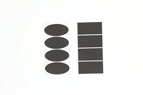maxs-40pcs-etichette-lavagna-cancellabile-impermeabile-rimuovere-lavagna-ovali-e-rettangoli-adesivi-