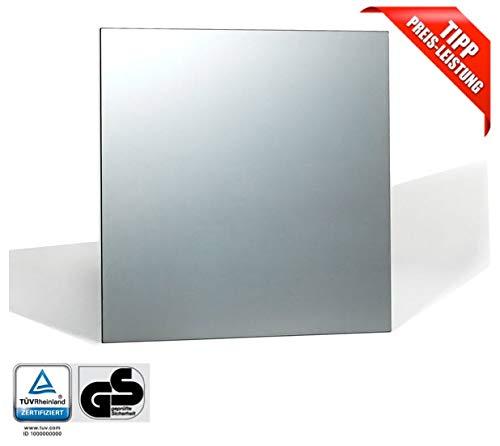 Infrarot Spiegelheizung Badezimmer Rahmenlos Mirrorline TÜV 5 Jahre Garantie