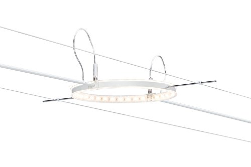 Paulmann 941.02 Seilsystem, Metall, Integriert, weiß