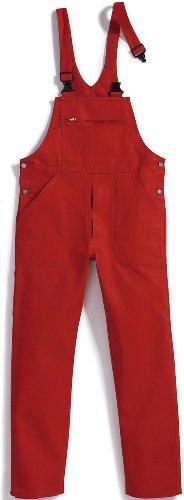 BP Workwear Arbeits-Latzhose Basic - rot - Größe: 56