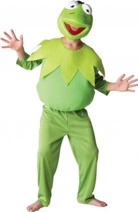Kermit Frosch Kinderkostüm - -