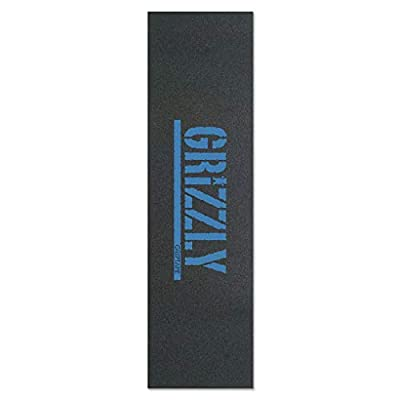 """Grizzly Skateboard Griptape Stamp Print Baby Blue 9"""""""