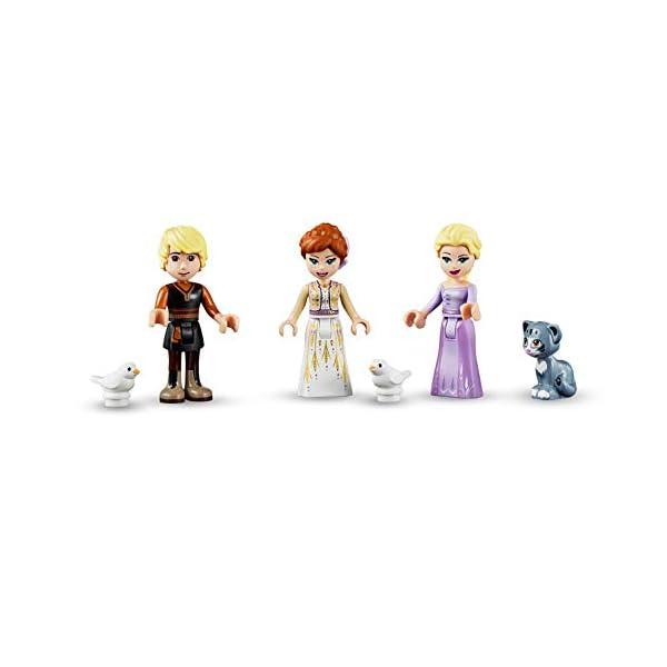 LEGO DisneyFrozenII IlvillaggiodelCastellodiArendelle con Mini-doll della Principessa Anna, Elsa e Kristoff,Mercato e Barca a Remi,Gatto e 2 Uccelli,Set di Costruzioni per Bambini, 41167 5 spesavip