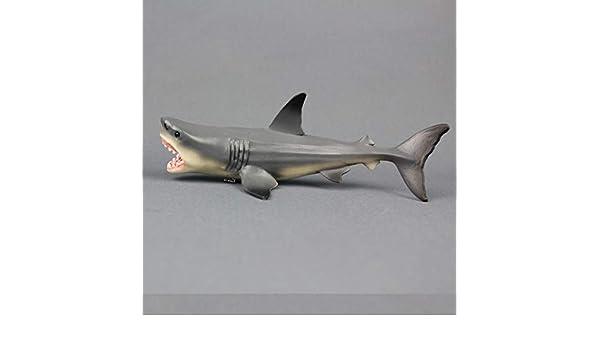 Megalodon Prehistoric Shark Toy Model Diecast Model Desk Decor Home