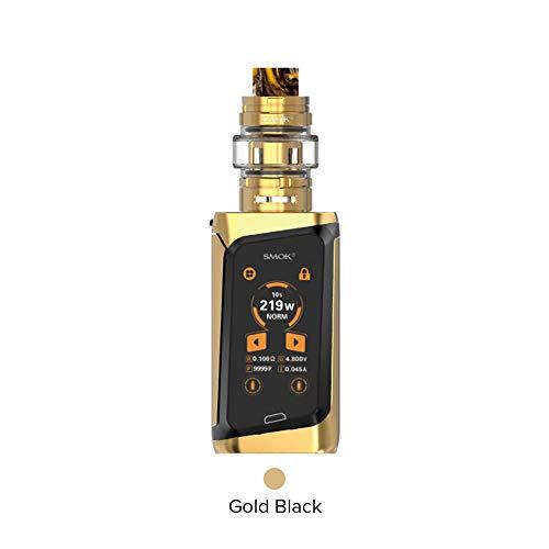 SMOK Morph 219 Cigarette électronique Kit complet de démarrage avec réservoir TF 6ML - Sans Nicotine ni Tabac (Or Noir)