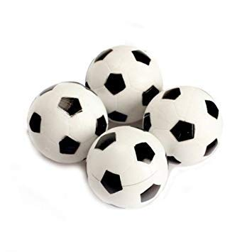 Table Foosball - TOOGOOR 30pcs 32mm Plastic Soccer Table Foosball Ball Footbal