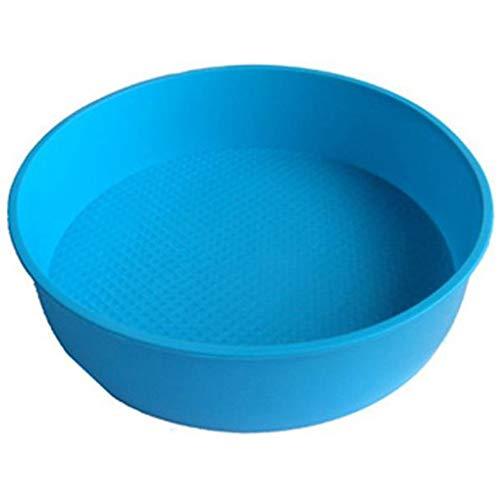 Level Küche Bakeware Supplies Runde Silikon-Backformen Pan DIY Plätzchen Desserts Backform Gebäck Werkzeuge (Silikon Cookie Blatt)