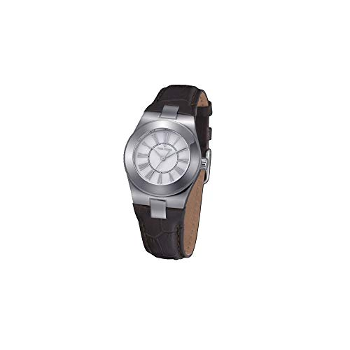 Time Force Reloj analogico para Mujer de Cuarzo con Correa en Piel TF4003L02