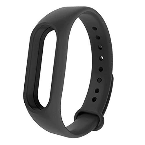 JIUHUIDIAN Ersatzriemensatz für Riemen, Ersatzriemen für Ersatzriemen für flexiblen Gummi Ersatzriemen für Xiaomi Mi Band 2 - Armband Lächeln