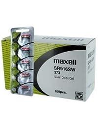 100 pcs Maxell SR916SW SR68 SR916 373 Silver Oxide Watch Battery