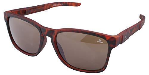 ROADSIGN Sonnenbrille Unisex UV 400 SchutzI Modell Wayfarer I Glasfarbe: braun