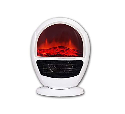 Tragbare Elektrische Innenkaminheizung für den Innenbereich, einstellbares Thermostat, für Büro und Zuhause 1500W, 15.8 * 12.9 * 8.2in