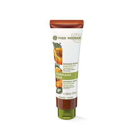 Peeling-körper-gel (Yves Rocher PFLANZENPFLEGE KÖRPER Pflanzen-Peeling, sanftes Körper-Peeling mit Aprikose, 1 x Tube 150 ml)