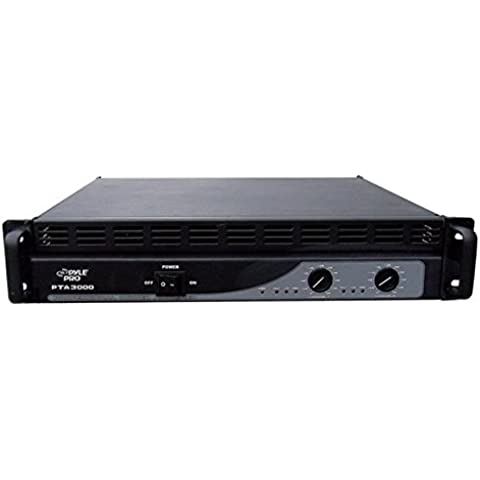 Pyle-Pro PTA3000 3000W Amplificador DJ