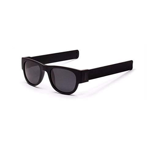 YCQUE Sonnenbrillen, Kreative interessante Outdoor-Armband Brille Sonnencreme polarisierte Sonnenbrille Fahren Reiten Wandern Brille Snap Armband