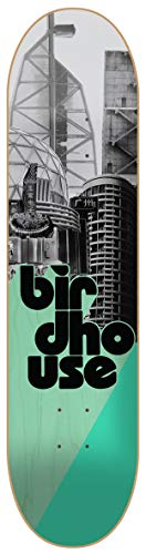 Birdhouse Skateboard-Deck Stacked - 7.75 Inch Grau-Mint (One Size , Grau)