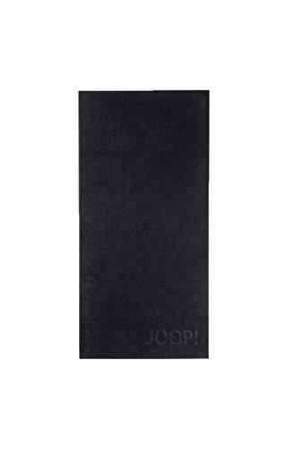 MichaelaX-Fashion-Trade Joop! - Frottier Handtuch in Verschiedenen Größen und Farben, Uni (1500), Größe:Strandtuch (80 x 200 cm), Dessin:Schwarz (901)