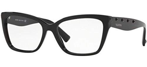 Valentino Brillen FREE ROCK STUD VA 3032 BLACK Damenbrillen