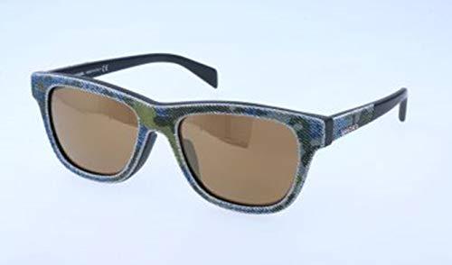 Diesel Unisex-Erwachsene DL0111F 98G-54-18-145 Sonnenbrille, Grau, 54