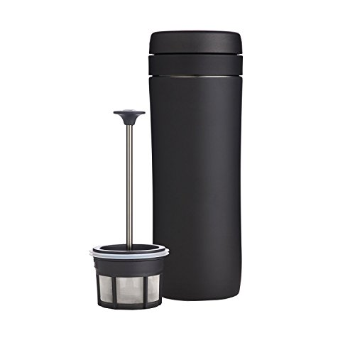 ESPRO Travel Press mit Kaffeefilter, 350 ml, schwarz