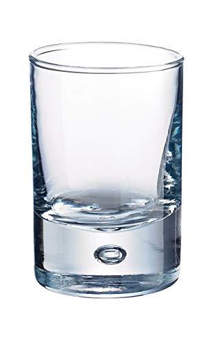 Durobor 347/05 disco amuse-bouche/bicchierino da grappa 50ml, 6 bicchieri, senza contrassegno di riempimento
