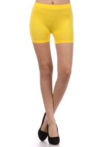 YouLookHot - Short de sport - Femme Multicolore bigarré taille unique Jaune