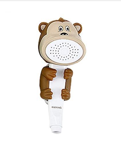 sche Cartoon Wasser fluss Spray Baby Kinder Bad spielen Badespielzeug Affe ()