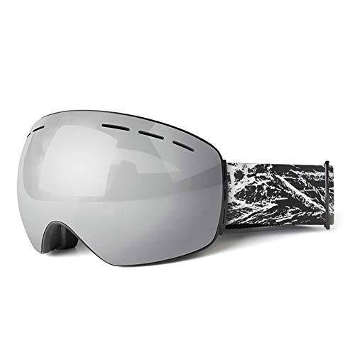 Coniea Sicherheitsbrille UV Schutz TPU Brillenträger Herren Schutz Brille Silber Schwarz