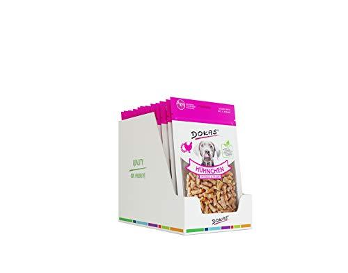 DOKAS Glutenfreier Premium Snack in praktischer Größe für Hunde - Ideal zum Training -