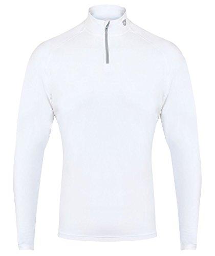 ISLAND GREEN Herren Pullover turtle neck Base Layer Größe L weiß (Island Kleidung)
