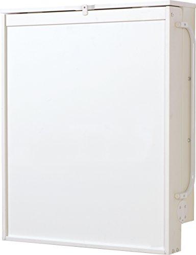 roba Table à langer murale blanche, roba Table à langer pliable et sûr, avec matelas à langer en pvc sans phtalates avec motif 'Junglebaby', HxLxP: 79x63x19cm.