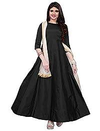 eb4d29e6e36 Miyani Enterprise Women s Tapeta Silk Anarkali Fancy Gown. (204 Free Size)