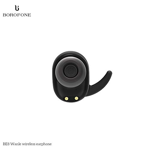 Festnight BOROFONE BE8 BT Kopfhörer mit 300mAh Ohrhörer Power Bank BT 4.1 Wireless Headset Ergonomisches DesignHigh-Qualität Sound Sport Ohrhörer für iPhone X Samsung Huawei Smartphone