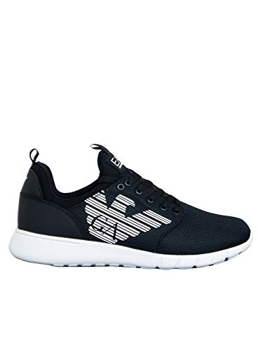 Emporio armani sneakers ea7 uomo x8x007 xcc02e00002 nero ei040x8x007-xcc02e00002_42