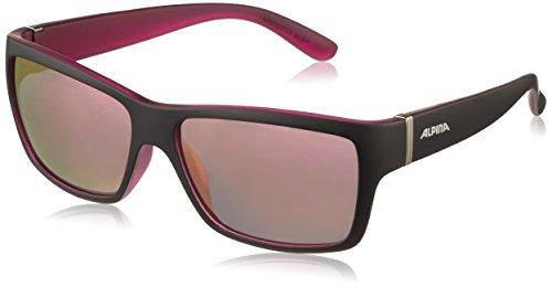 ALPINA Erwachsene Kacey Outdoorsport-Brille, Black Matt-Pink, One Size