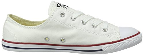 Converse Chuck Taylor All Star Dainty, Baskets Basses Femme Blanc (White)
