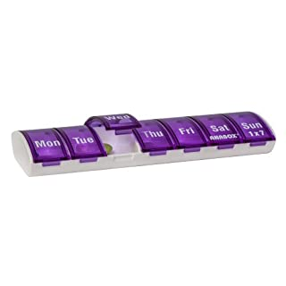 Anabox 7 Day Pillbox Purple