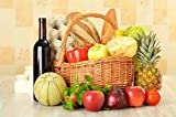 Deluxe Seasonal Fruit and Vegetables and Extras Hamper for Christmas