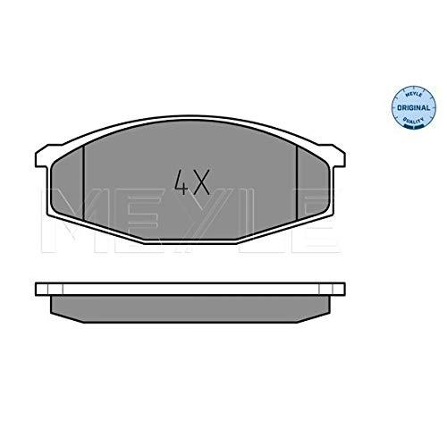 Meyle 025 208 6316 Kit de plaquettes de frein, frein à disque
