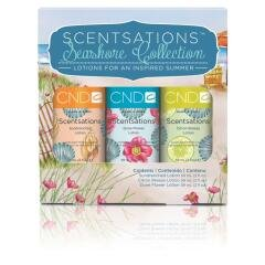CND Scentsations Seashore Collection - 3 x 59ml Lotion