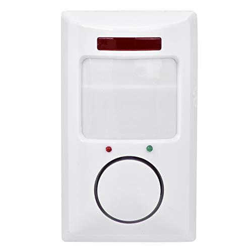ASHATA Fensteralarm Türalarm,105dB Funkalarmsystem Infrarot Bewegungsmelder Detektor Home Alarm System,Wireless Hausalarm Einbruchsschutz Wandalarm Sicherheitstechnik für Haus/Büro/Höfe -