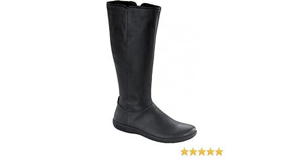 Birkenstock Farmington Stivale Natural Leather Nero (36 EU
