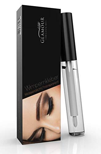 statt 9,90€ nur 5,49€ GlamourLook Professional Wimpernkleber transparent wasserfest mit Pinsel 5ml