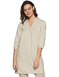 VERO MODA Women's Linen Shift Dress
