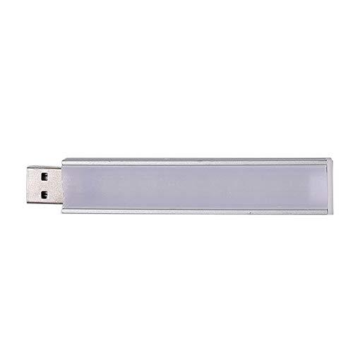 Nachtlicht Tragbare Praktische Mini Verlängerungskabel Streifenform Kein Strobe Schreibtisch Mobile Power Book Led Readig Computer B Lade(10LED Weiß) -