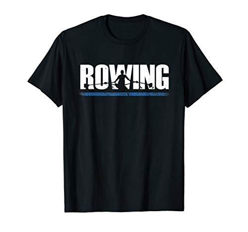 Rudern Ruderer Rowing Geschenk Row Rower Wassersport Outfit T-Shirt