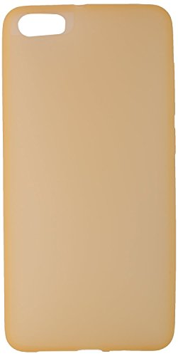 GoRogue Frosted Glowing Ultra Slim Soft Flexible TPU Back Case Cover For Micromax Canvas Knight 2 E471 (Gold)  available at amazon for Rs.149